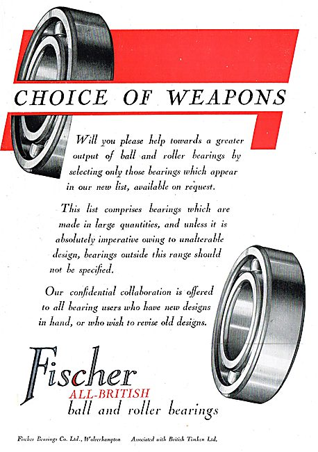 Fischer Bearings