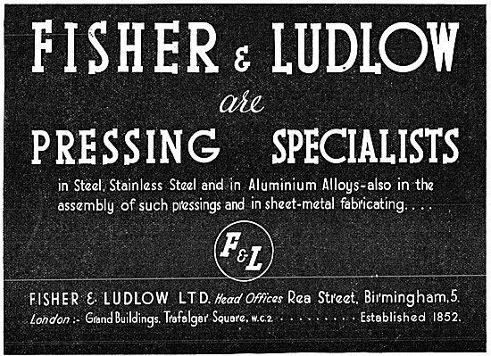 Fisher & Ludlow Pressings