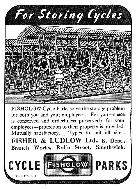 Fisher & Ludlow Fisholow Cycle Parks