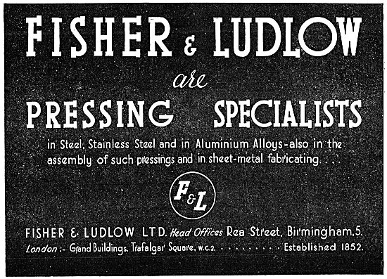 Fisher & Ludlow Pressings