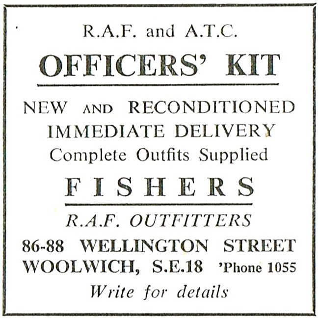Fishers RAF Outfitters