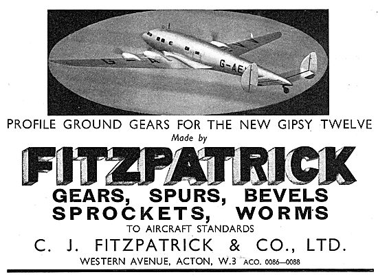 C.J.Fitzpatrick. Gears, Spurs, Bevels, Sprockets & Worms