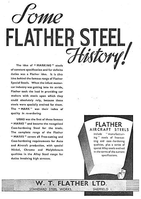 Flather Special Steels. UBAS
