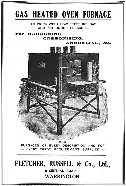 Fletcher Russell & Co. Furnaces & Heat Treatment Equipment