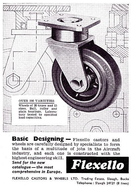Flexello Ground Equipment Castors & Wheels