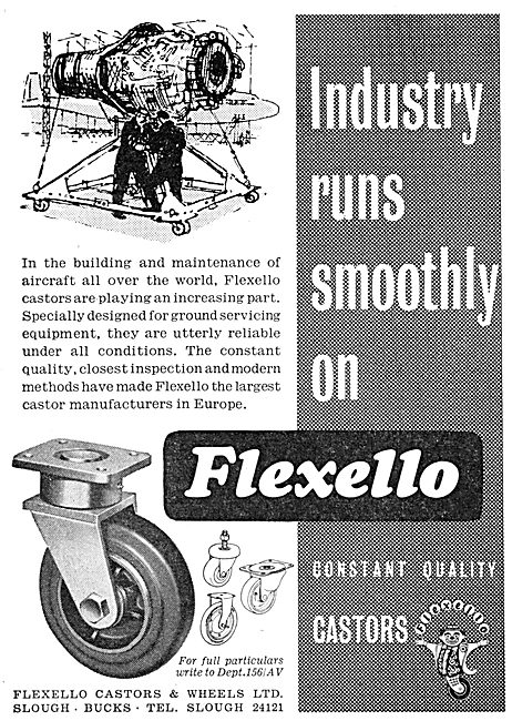 Flexello Castors For Ground Equipment