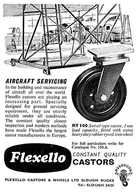 Flexello Castors For Servicing Equipment
