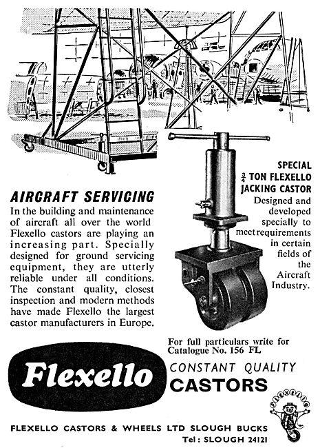 Flexello Castors For Ground Equipment