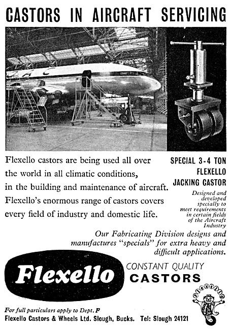 Flexello Castors