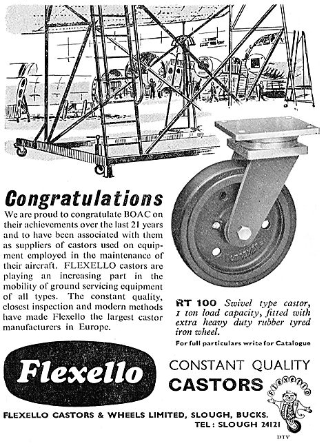 Flexello RT100 Swivel Castor