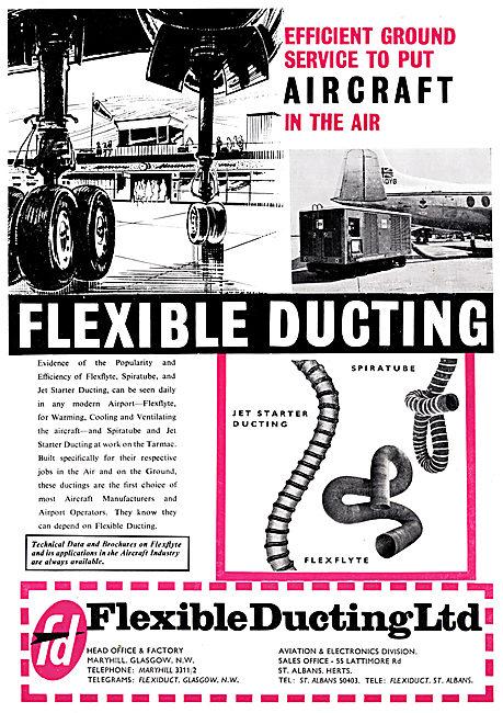 Flexible Ducting - FLEXLYTE, SPIRATUBE Jet Starter Ducting