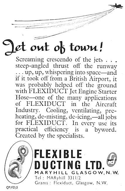 Flexible Ducting - Flexiduct 1963