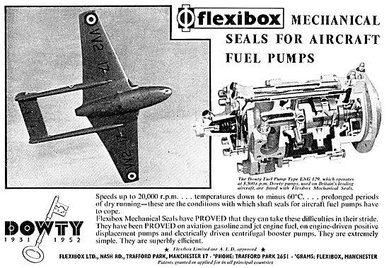 Flexibox Congratulate Dowty On Their 21st - Fuel Pumps