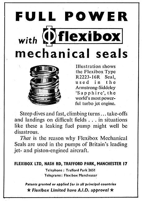 Flexibox R2223-16R Seal - Mechanical Seals