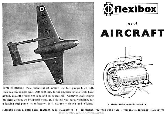 Flexibox Mechanical Seals 1952