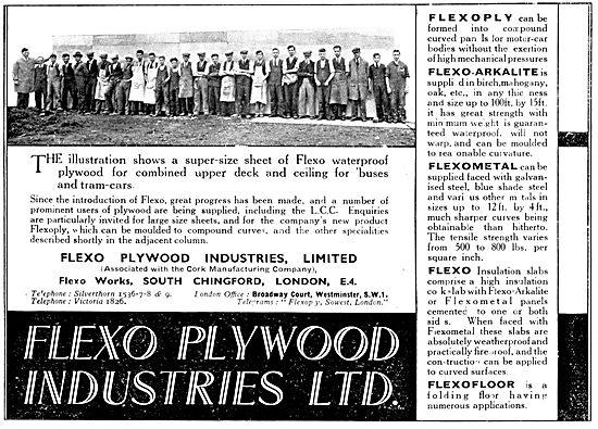 Flexo Aircraft Plywood 1931