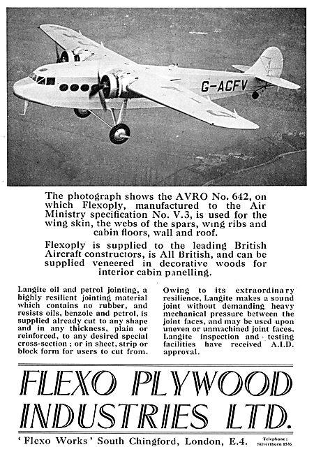 Flexo Flexopoly Aircraft Plywood