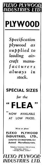 Flexo Flexopoly Aircraft Plywood - Flying Flea