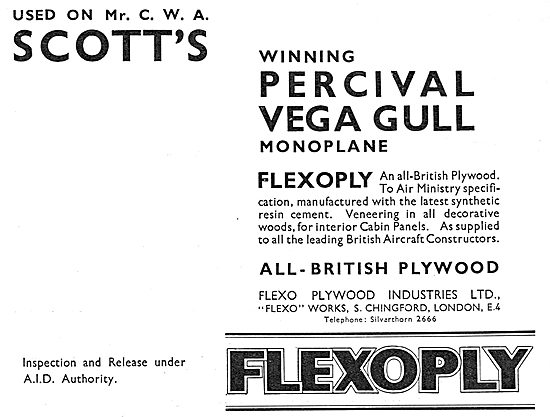 Flexo Flexopoly Aircraft Plywood