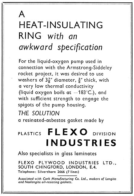 Flexo Resinated Asbestos Gaskets