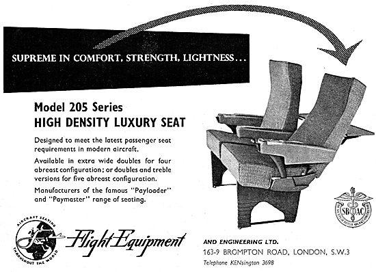 Flight Equipment Aircraft Seating