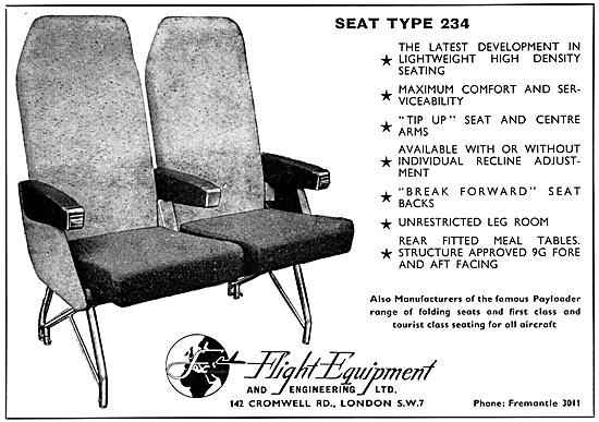 Flight Equipment  Aircraft Seats