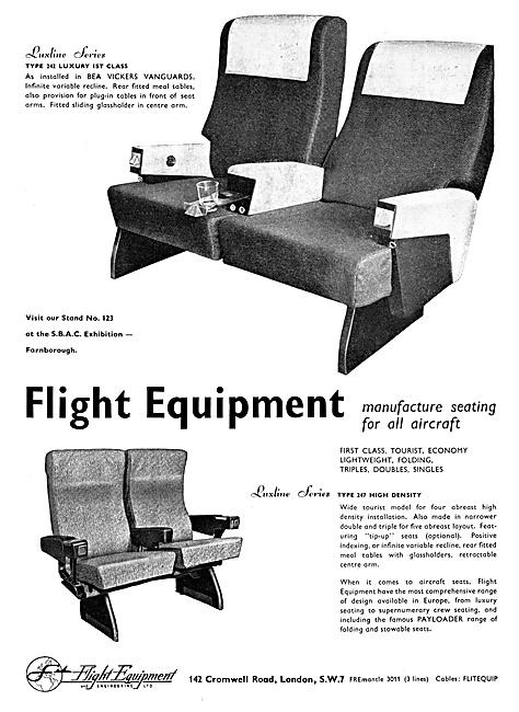 Flight Equipment  Aircraft Passenger Seats
