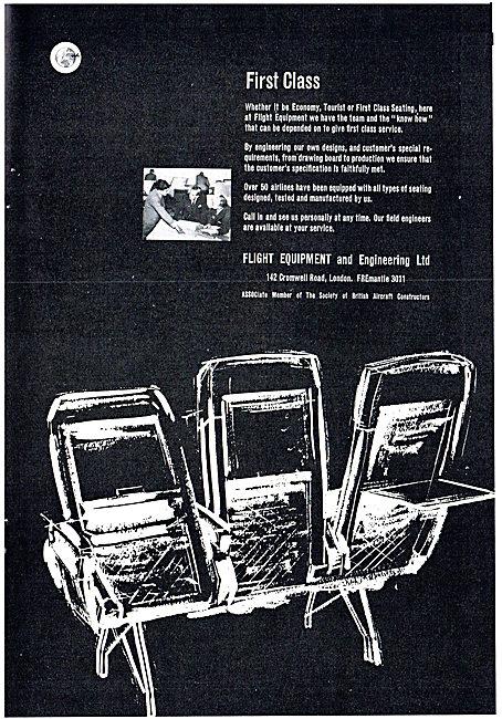 Flight Equipment Ltd - Aircraft Seating.