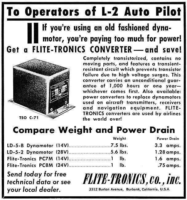 Flite-Tronics L-2 Autopilot Converter