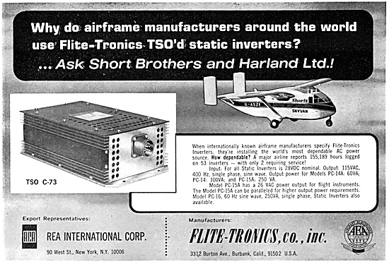 Flite-Tronics Electrical Equipment