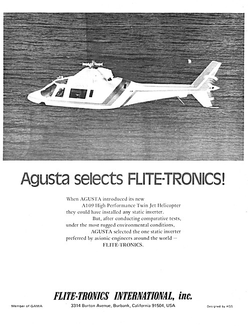 Flite-Tronics Electronic Equipment