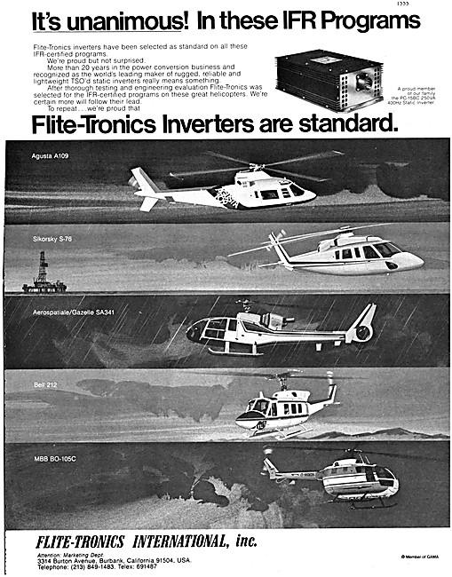 Flite-Tronics Avionics