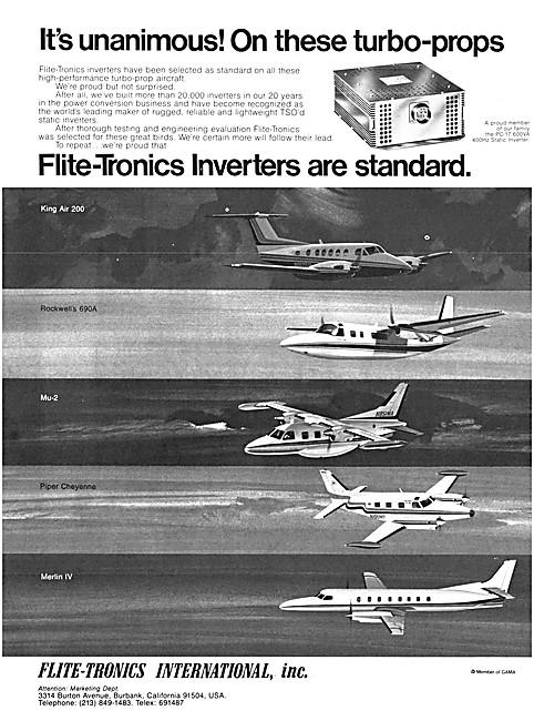 Flite-Tronics Inverters