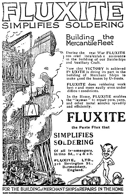 Fluxite Solder Paste Flux