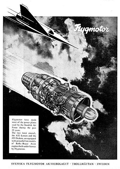 Flygmotor Avon Aero Engines