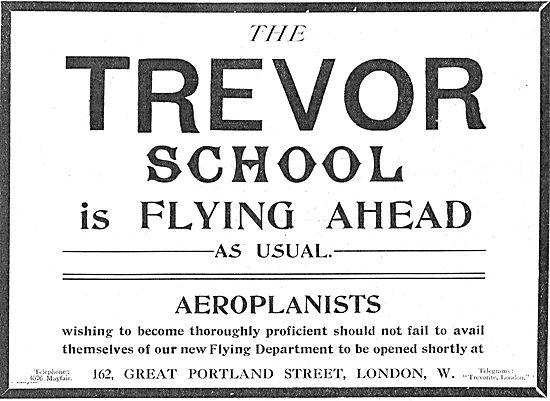 The Trevor School For Aeroplanists: 162 Portland St London W
