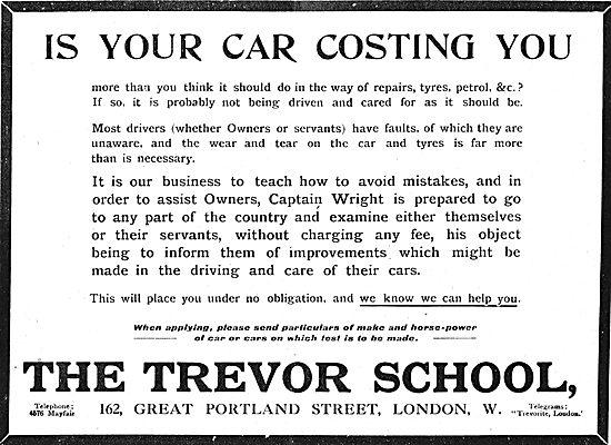 The Trevor School. Captain Wright Instructor Examiner Will Travel