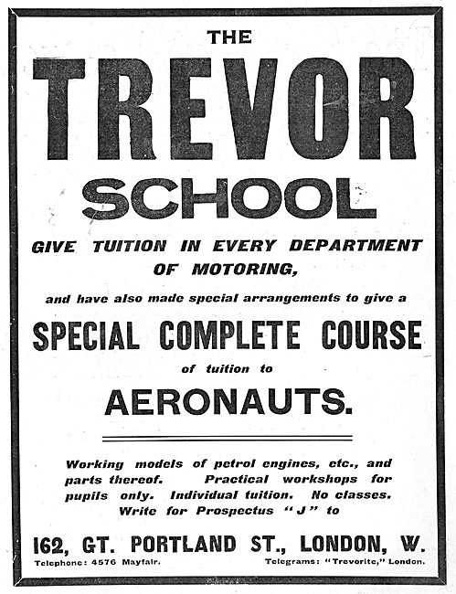 The Trevor School Special Complete Course For Aeronauts