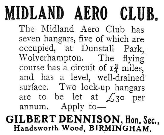 Midland Aero Club Dunstall Park Wolverhampton