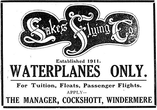 Lakes Flying Co Cockshott Windermere - Tuition & Passenger Flight