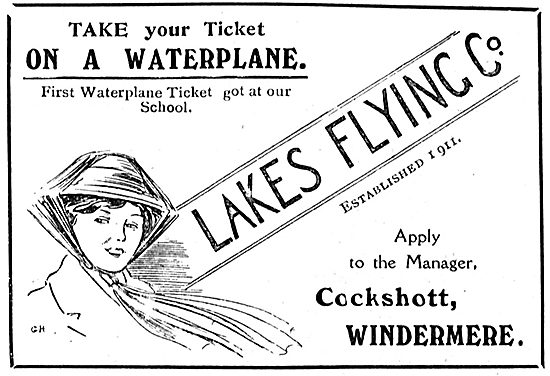 Take Your Ticket On A Waterplane With The Lakes Flying Co
