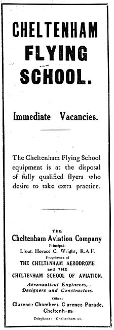 The Cheltenham Flying School 1919