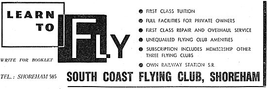 South Coast Flying Club - Shoreham