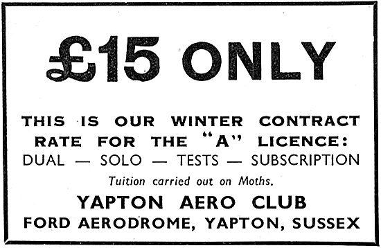 Yapton Aero Club - Ford Aerodrome