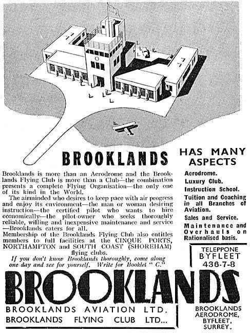 Brooklands Flying Club