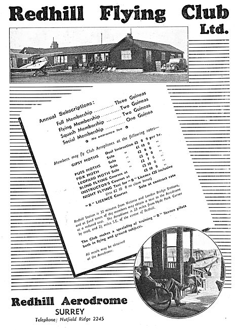 Redhill Flying Club