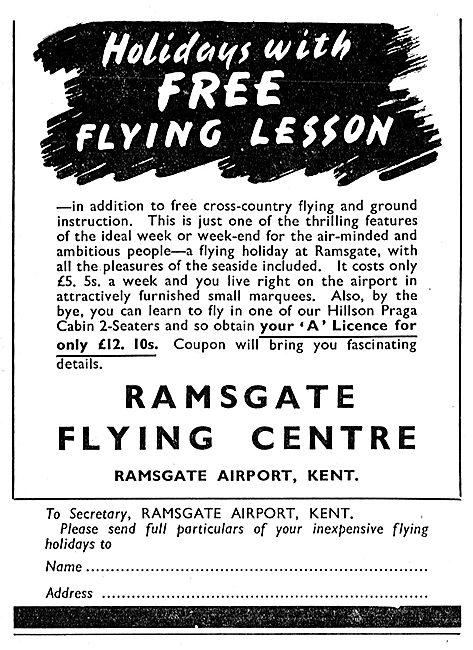 Ramsgate Flying Centre - Ramsgate Airport Kent
