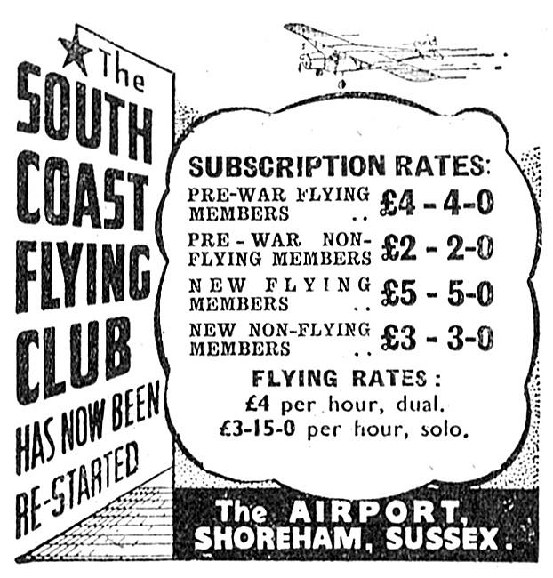 The South Coast Flying Club Shoreham