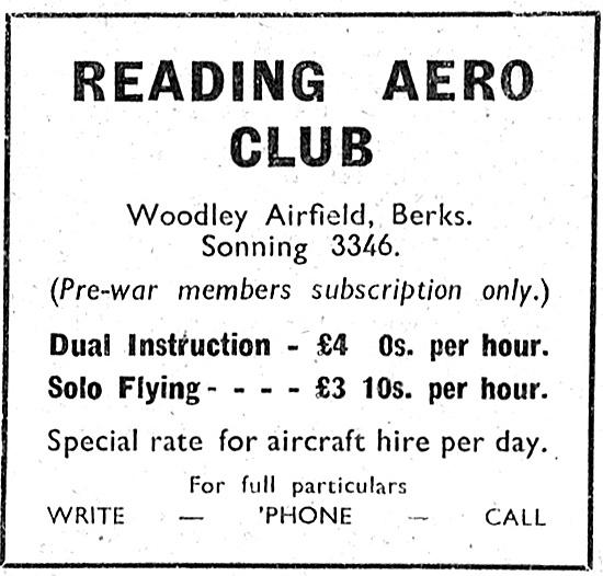 Reading Aero Club Woodley