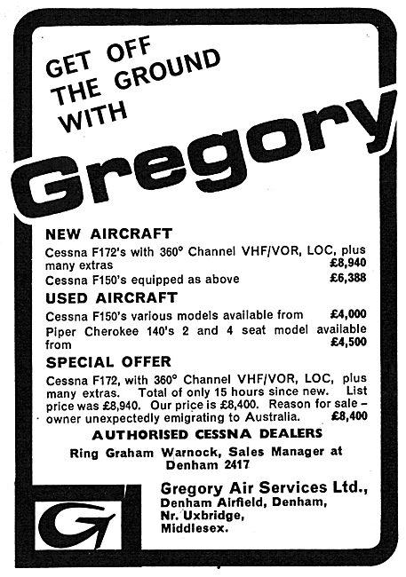Gregory Air Services Denham - Sales & Training
